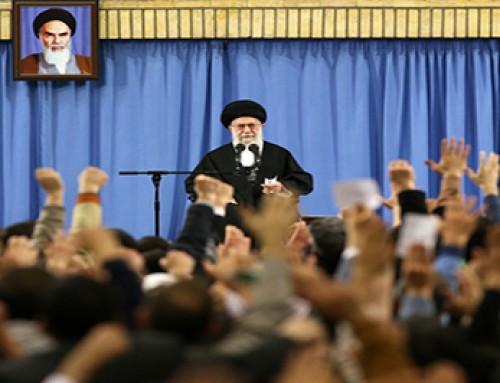 رهبر معظم انقلاب اسلامی در دیدار پر شور هزاران نفر از مردم آذربایجان: