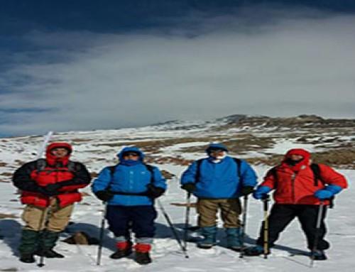 صعود به قله آراگاس کشور ارمنستان
