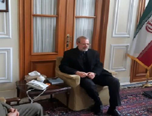 دیدار فرمانده کل و معاون هماهنگ کننده ارتش با رئیس مجلس شورای اسلامی