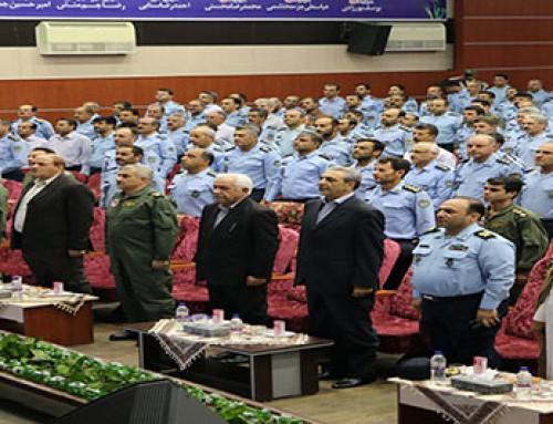 دیدار ریاست محترم کانون بازنشستگان آجا با کارکنان شاغل در نیروی هوائی ارتش جمهوری اسلامی ایران