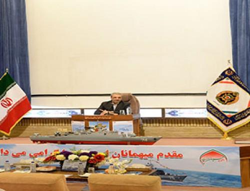 حضور امیر ریاست محترم در جمع فرماندهان و مدیران ارشد نیروی دریائی ارتش جمهوری اسلامی ایران