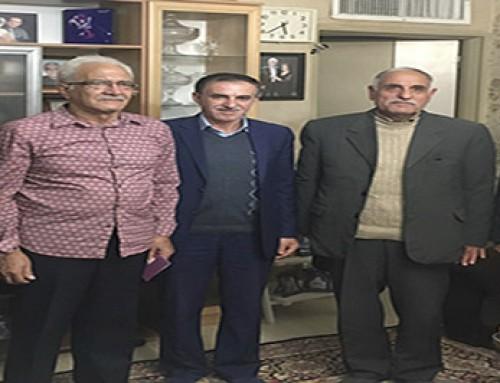 بازدید از کانون بازنشستگان استان فارس
