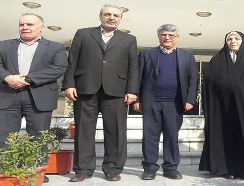 حضور دکتر فریده اولادقباد و دکتر محمدعلی وکیلی حامیان طرح همسان سازی حقوق در کانون