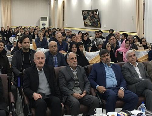 حضور قائم مقام کانون در جمع پیشکسوتان گرگان