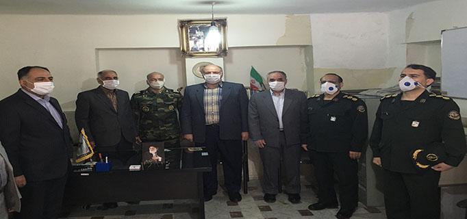 مراسم تودیع و معارفه رؤسای قدیم و جدید کانون بازنشستگان استان کردستان