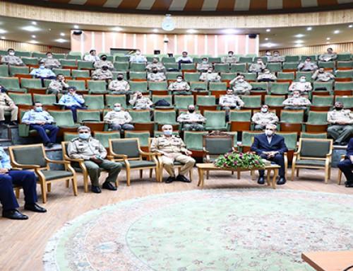 حضور امیر ریاست محترم کانون در جمع دانشجویان دانشگاه فرماندهی و ستاد ارتش ج.ا.ا